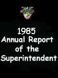 1985 Annual Report of the Superintendent - United States Military Academy